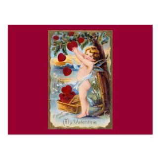 ¡Tarjeta del día de San Valentín adorable del Cupi Postales