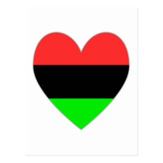 Tarjeta del día de San Valentín afroamericana del  Postales