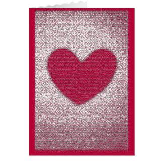 Tarjeta del día de San Valentín anti de la tarjeta