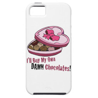 Tarjeta del día de San Valentín anti divertida iPhone 5 Protectores