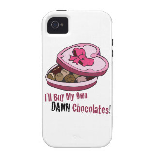 Tarjeta del día de San Valentín anti divertida iPhone 4/4S Carcasa