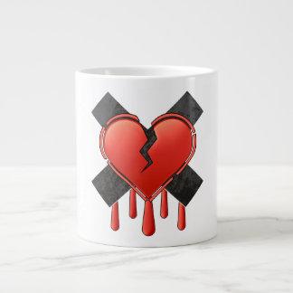 Tarjeta del día de San Valentín anti Taza Grande