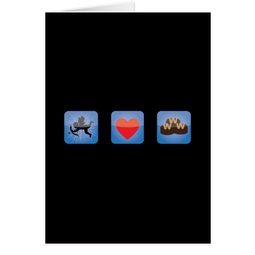 tarjeta del día de San Valentín appy