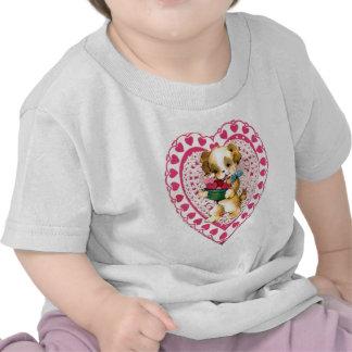 Tarjeta del día de San Valentín Camiseta
