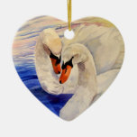 Tarjeta del día de San Valentín cariñosa de la acu Ornamentos De Navidad