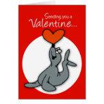 Tarjeta del día de San Valentín de 3569 sellos