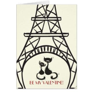 Tarjeta del día de San Valentín de AristoCat