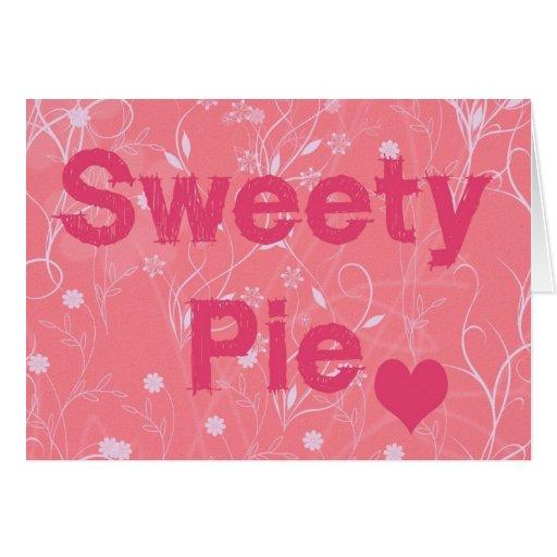 tarjeta del día de San Valentín de la empanada del