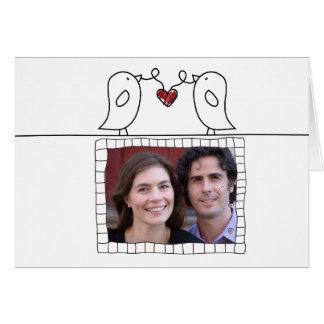 tarjeta del día de San Valentín de la foto