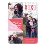"""Tarjeta del día de San Valentín de la foto del Invitación 5"""" X 7"""""""