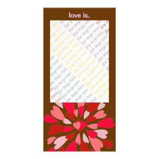 Tarjeta del día de San Valentín de la momia del am Tarjeta Personal Con Foto