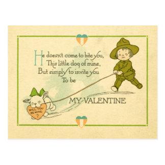 Tarjeta del día de San Valentín de la Primera Guer Postales