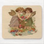 tarjeta del día de San Valentín de la querube del  Tapetes De Raton