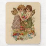 tarjeta del día de San Valentín de la querube del Alfombrilla De Ratón