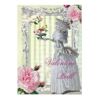Tarjeta del día de San Valentín de Lettre D amour Comunicados Personales