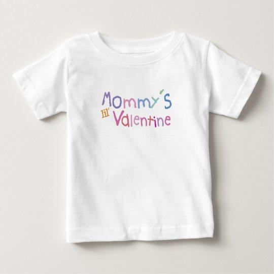 Tarjeta del día de San Valentín de Lil de la mamá Playera De Bebé