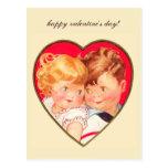 Tarjeta del día de San Valentín de los amores del  Tarjeta Postal
