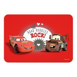 """Tarjeta del día de San Valentín de los coches Invitación 3.5"""" X 5"""""""