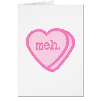 Tarjeta del día de San Valentín de Meh