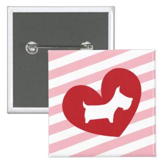 Tarjeta del día de San Valentín de Scotty Pin