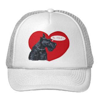 Tarjeta del día de San Valentín de Terrier del esc Gorra