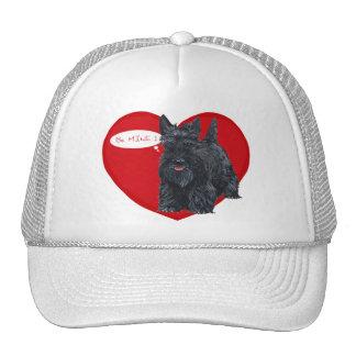 Tarjeta del día de San Valentín de Terrier del esc Gorro De Camionero