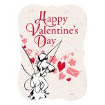 """Tarjeta del día de San Valentín de Tinkerbell Invitación 5"""" X 7"""""""