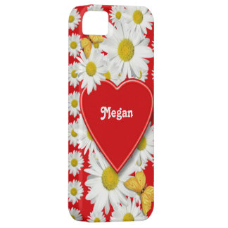 Tarjeta del día de San Valentín del amor y de los  iPhone 5 Case-Mate Fundas