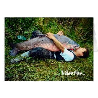 Tarjeta del día de San Valentín del campesino sure