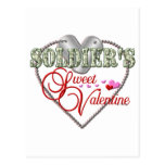Tarjeta del día de San Valentín del dulce de los s Postales