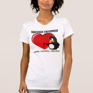 Tarjeta del día de San Valentín del friki del orde Camiseta