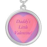 ¡Tarjeta del día de San Valentín del papá del coll Grimpolas Personalizadas