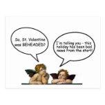 Tarjeta del día de San Valentín del St. de la Postal