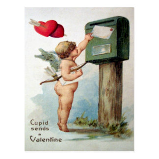 Tarjeta del día de San Valentín del Victorian Tarjetas Postales