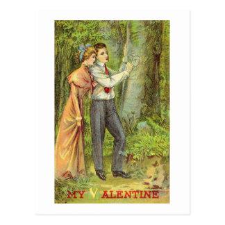 Tarjeta del día de San Valentín del vintage (222) Tarjeta Postal