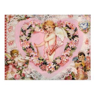Tarjeta del día de San Valentín del vintage Postales