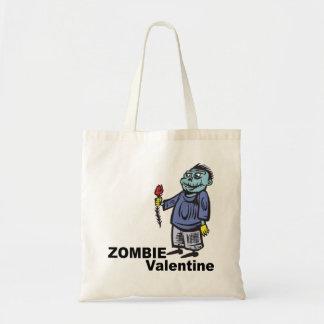 Tarjeta del día de San Valentín del zombi Bolsas