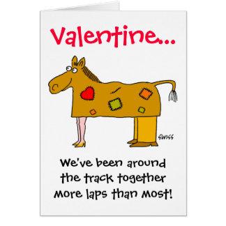 Tarjeta del día de San Valentín divertida