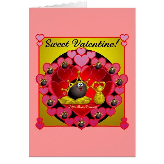 Tarjeta del día de San Valentín dulce