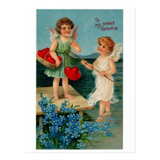 Tarjeta del día de San Valentín dulce Tarjetas Postales