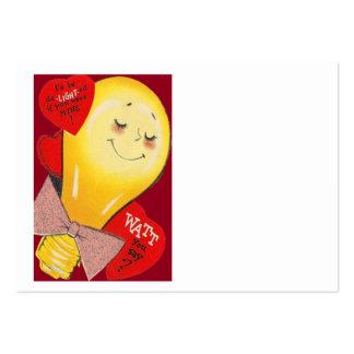 Tarjeta del día de San Valentín extraña divertida Plantilla De Tarjeta De Visita