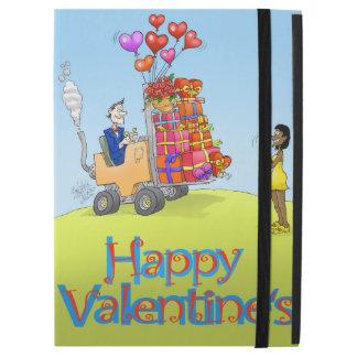Tarjeta del día de San Valentín feliz en un