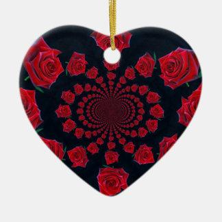 Tarjeta del día de San Valentín feliz Adornos