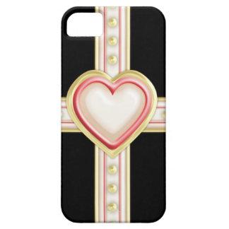 Tarjeta del día de San Valentín formal Funda Para iPhone 5 Barely There