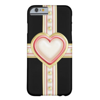 Tarjeta del día de San Valentín formal Funda De iPhone 6 Barely There