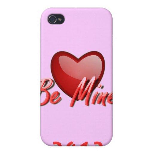 Tarjeta del día de San Valentín iPhone 4 Protectores
