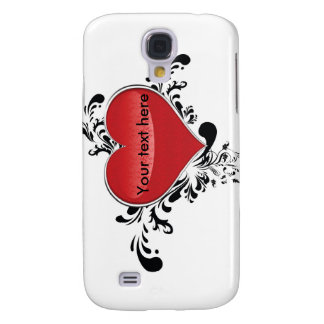 Tarjeta del día de San Valentín Funda Para Samsung Galaxy S4