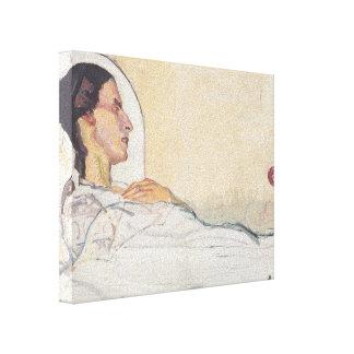 Tarjeta del día de San Valentín Gode de Fernando H Impresión En Lona Estirada