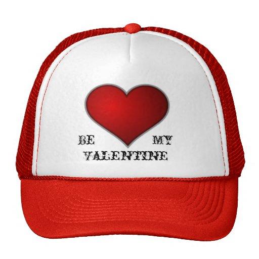 Tarjeta del día de San Valentín Gorras De Camionero
