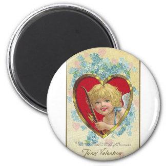 Tarjeta del día de San Valentín Iman De Frigorífico